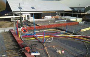 omplete installatie nieuwbouw woning